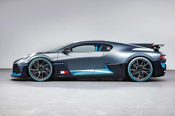 Neue Infos zum Bugatti Divo