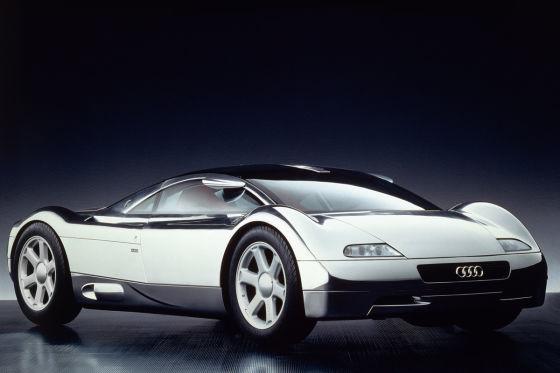 Audi-Studie: Vollelektrischer Supersportler