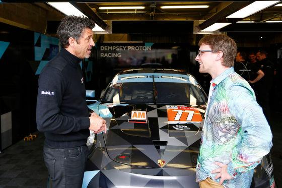 Le Mans Dempsey Exklusiv Mcdreamy Musste Wegen Le Mans Sterben