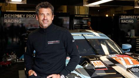 Le Mans: Patrick Dempsey exklusiv