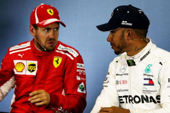 Vettel vs. Hamilton