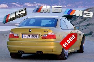 7 BMW M unter 20.000 Euro