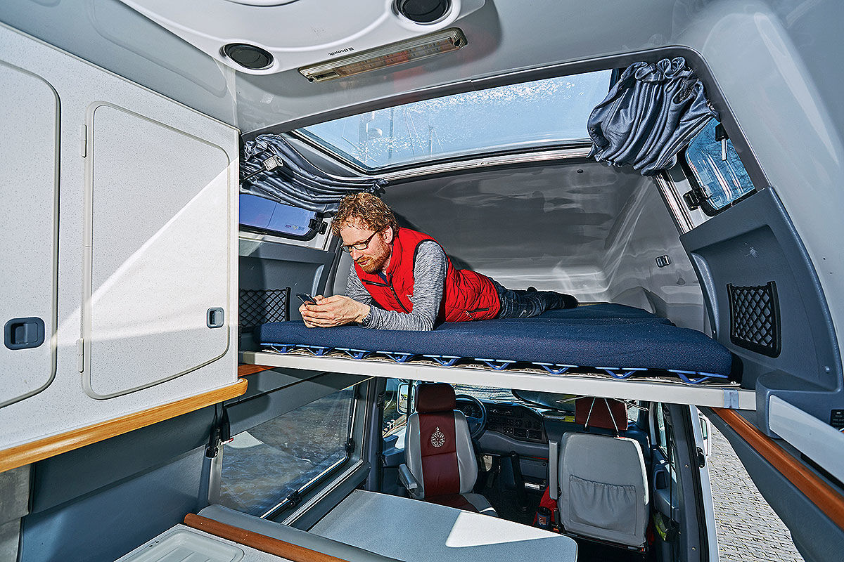 Wohnmobil-Test Mercedes Sprinter James Cook