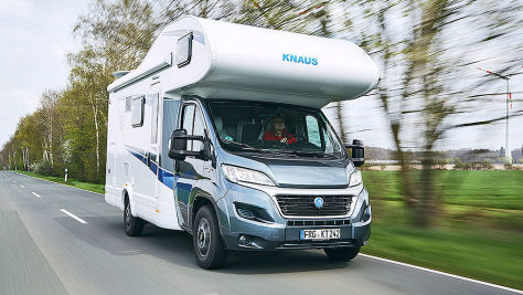 Dauertest: Knaus Live Traveller