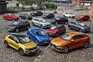 14 Volkswagen-SUVs im Check