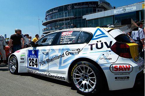 Der Schubert-Motors-1er wartet auf seinen Renneinsatz am Nürburgring.