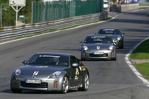 Ein Novum: Drei Rennstrecken sind beim DDC-Finale 2007 zu absolvieren.