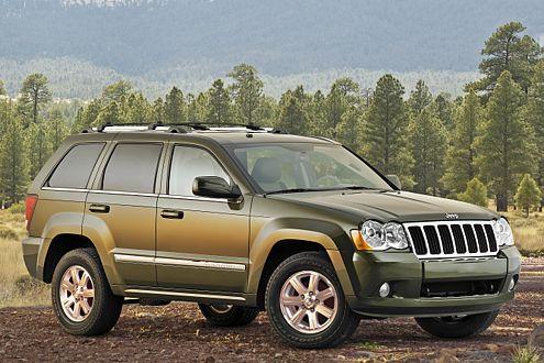 Neu im Grand Cherokee: 4,7 Liter großer Achtzylinder mit 305 PS.