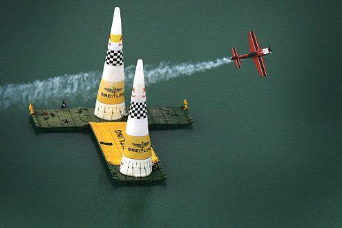 Die Extra 300 S von Klaus Schrodt war der Konkurrenz technisch unterlegen. Am Ende blieb Rang neun.