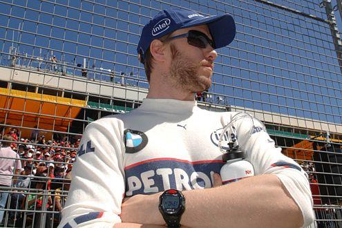 Nick Heidfeld kann zuversichtlich auf das nächste GP-Wochenende in Bahrain am 13. und 14. April schauen.