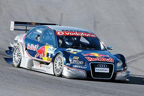 Der DTM-Audi 2007 ist die Weiterentwicklung des 2006er A4.