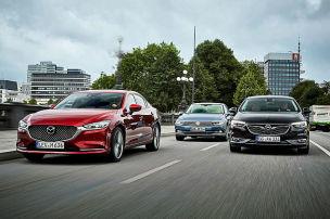 Sieg für den neuen Mazda6?