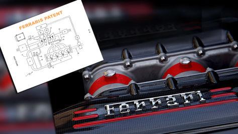 Ferrari-Vierzylinder (2018): Technik