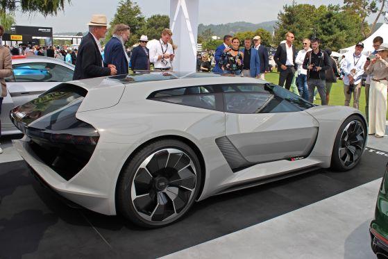 Audis E-Studie bereit für den Track
