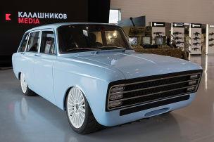 Kalaschnikow zeigt Elektro-Auto