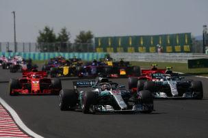 Vettel nach heißem Rennen Zweiter