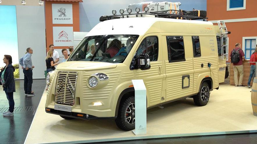 Video: Caravan Salon (2018) - AUTO BILD