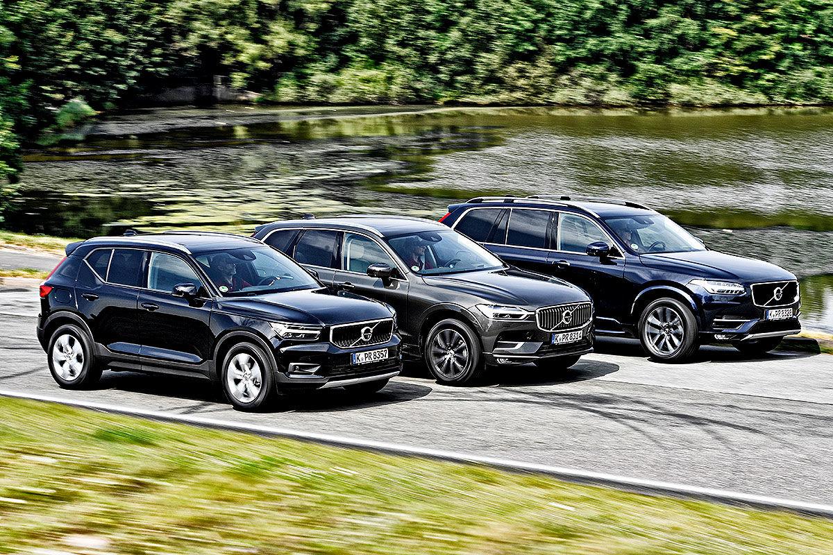 Volvo XC40 Volvo XC60 Volvo XC90