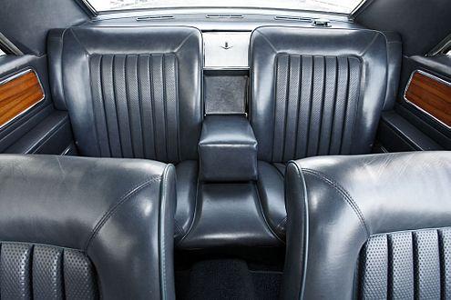 Sportlich Reisen 1967: Im Diplomat V8 Coupé ist hinten noch richtig Platz.