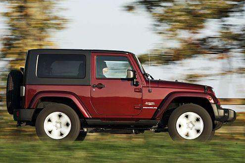 Der Wrangler-Diesel hat 2,8 Liter Hubraum, vier Zylinder und 177 PS.