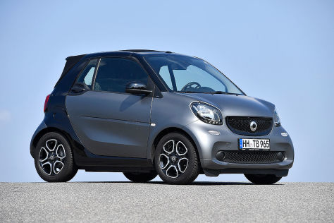 smart fortwo typ 453 gebrauchtwagen test. Black Bedroom Furniture Sets. Home Design Ideas