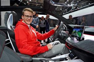 Skoda Vision RS (2018): Test