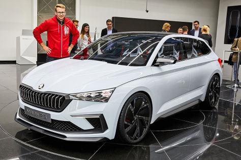 Skoda Vision RS (2018): Test, Plug-in-Hybrid für Pariser ...