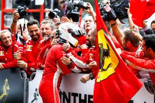 So übertölpelte Vettel Hamilton