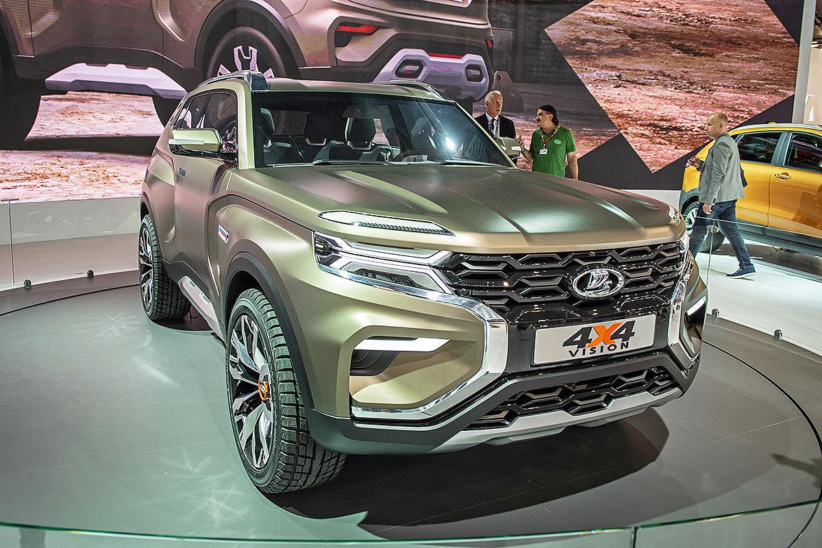 Lada 4x4 Vision Concept (2018): Vorstellung