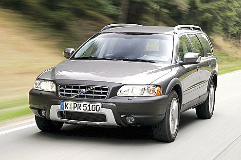 Klassenprimus der Oberklasse-SUV: Der XC70 2.4 D5 braucht nur 7,6 Liter.