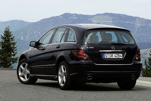 Das Basismodell R 280 gibt's ab Herbst ab 46.707 Euro.