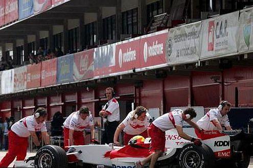 Toyotas Nummer eins: Trulli hat bislang vier Quali-Duelle gegen Ralf gewonnen.