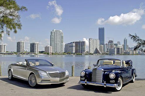Der Ocean Drive hat ein glänzendes Vorbild: das 300d Cabrio D von 1957.