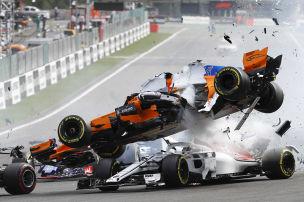 Hülkenberg auf Start-Crash-Rekordkurs