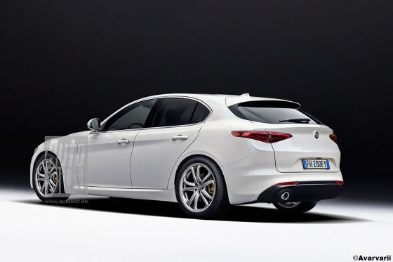 Alfa Rome Giulietta Illustration