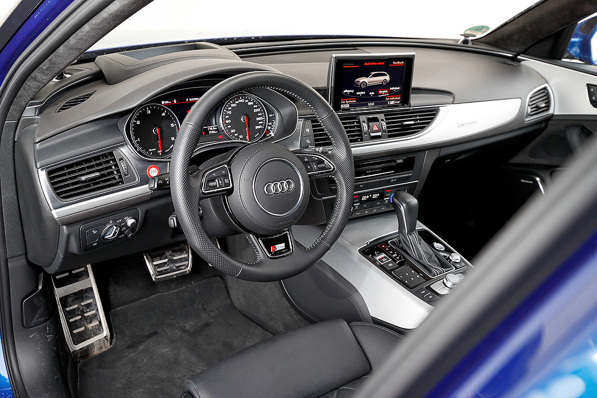 audi a6 avant 3 0 tdi quattro im dauertest bilder. Black Bedroom Furniture Sets. Home Design Ideas