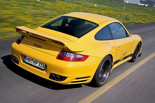 Sprintkönig: Schneller auf 200 km/h als der 9ff ist kein Konkurrent.
