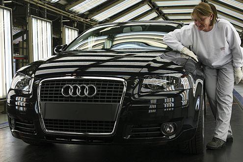 Der Audi A3 Sportback wird neben Ingolstadt jetzt auch in Brüssel gebaut.