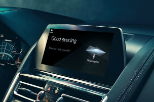 Sprachsteuerung von BMW