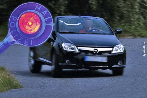 Übermütig im Opel Tigra
