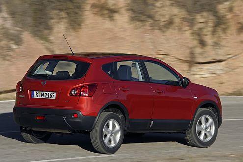 Vier Probleme auf einmal: Nissan ruft in Deutschland 6922 Qashqai zurück.