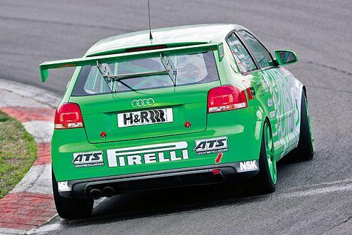 Ziel ist der Klassensieg: Der Audi A3 24h soll am Nürburgring abräumen.