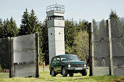 Deprimierender Pflichtbesuch: das Mauer-Museum oberhalb von Sorge.