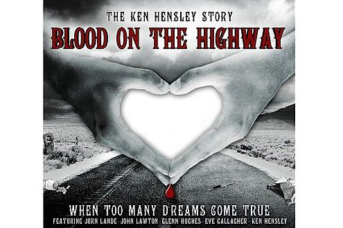 "Frisch auf dem Markt: Hensleys neues Album ""Blood on the Highway"""