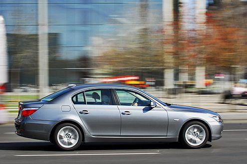 Ab 37.250 Euro ist 5er-Spaß zu haben. Rang 12 für den BMW.