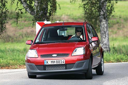 Klein, sportlich und flott: Der Ford Fiesta landet auf Rang 18.
