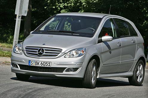 Platz 19 für den derzeit teuersten Kompaktvan: die Mercedes B-Klasse.