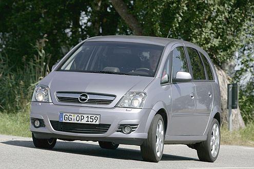 Platz 20 für den Opel Meriva, den Minivan mit geringem Wertverlust.