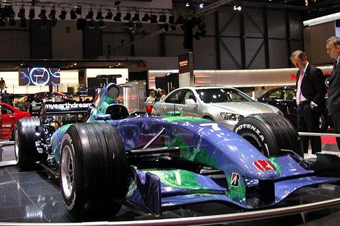 Das Earth Car: In dieser Saison das einzig Positive vom Honda-F-1-Team.