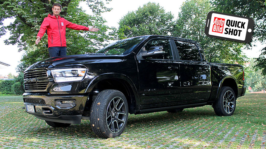 Video: Ram 1500 (2019) - AUTO BILD